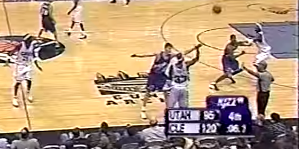 Hilarious Throwback: Ricky Davis Goes For Triple Double