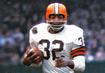 Jim Brown Top Five Plays!