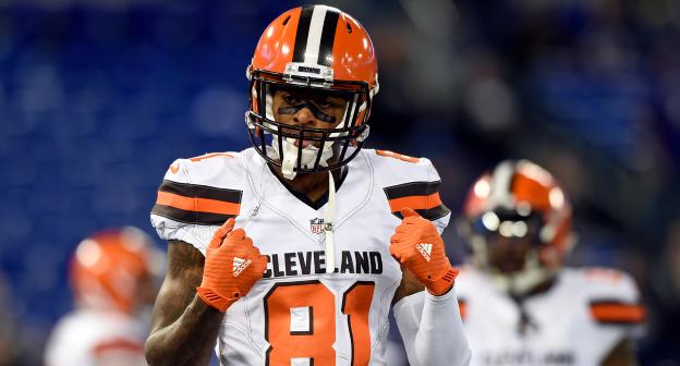 "Report: Rashard Higgins: ""I'll be back"" with the Browns"