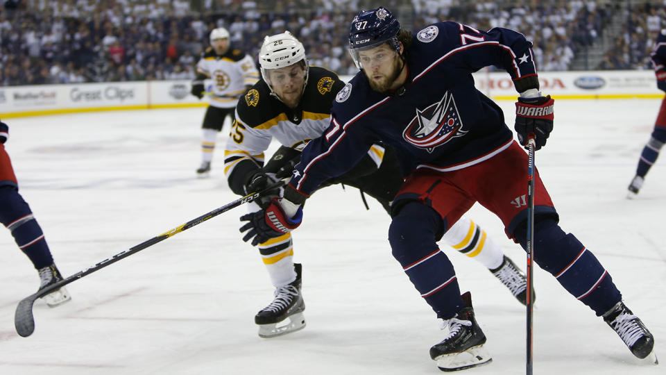 Blue Jackets Fall Hard, Get Eliminated