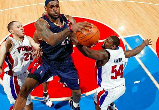Throwback Video: LeBron, Cavs Beat Pistons in 2007 Game 5 2OT Thriller!
