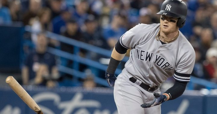 Indians Trade Targets: Clint Frazier, OF – New York Yankees