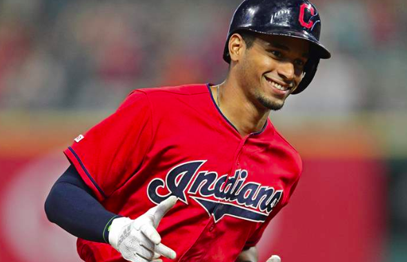What's Hotter Right Now? The Heat Index in Cleveland or the Surge by Indians Outfielder Oscar Mercado?