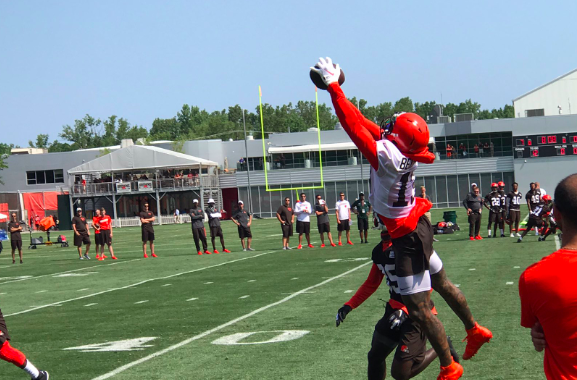 VIDEOS: Day 1 at Browns Camp