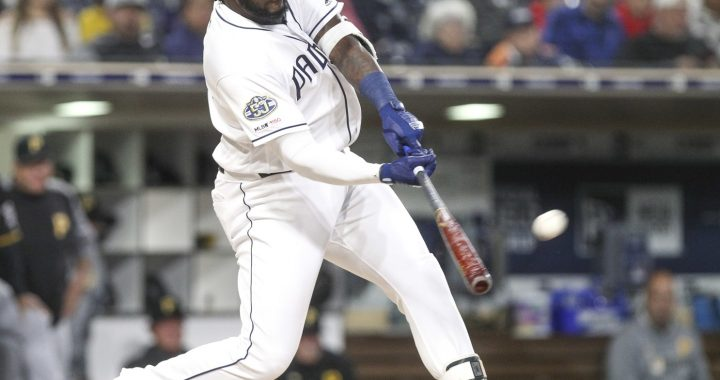 The Indians' DH for the future: Franmil Reyes