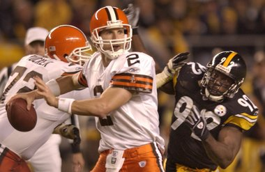 VIDEO: Browns Beat Steelers – SNF 2003