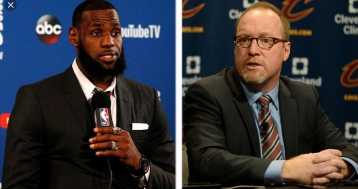 LeBron James Moves David Griffin To Tears – And Not In A Good Way
