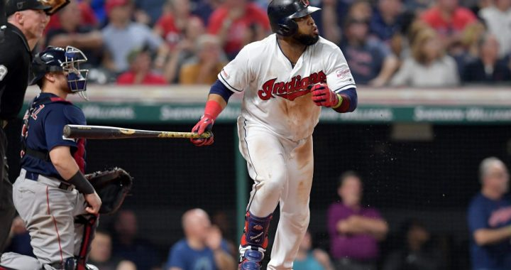 Watch Both of Carlos Santana's Clutch Homers HERE