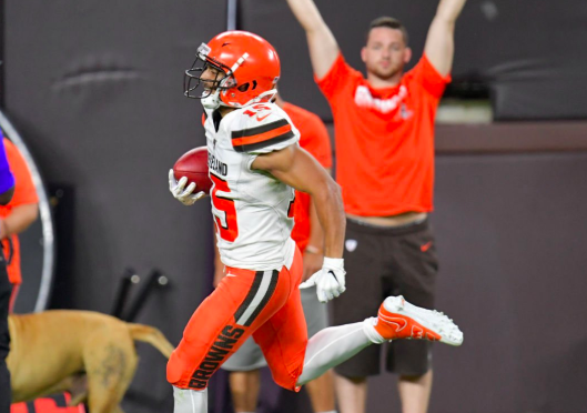 Browns Preseason Reinforces America As Land of Opportunity