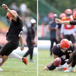 Browns Kickers Continue to Display Mediocrity