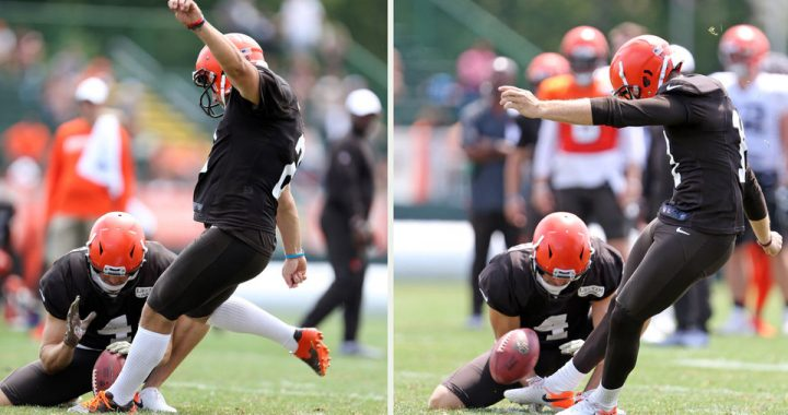 Browns Kickers Continue to Display Mediocrity