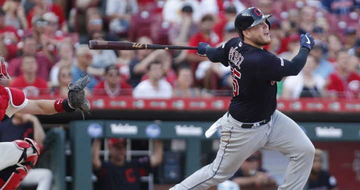 Indians Catcher Roberto Perez Delivers on His Promise