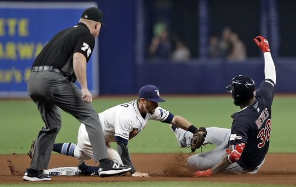 Rays Grab Brooms, Indians Grab Shovels