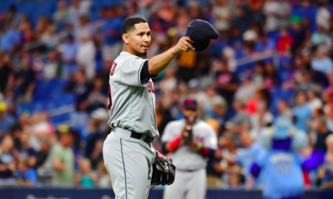 Carlos Carrasco's Courage Helpful With My Own Battle