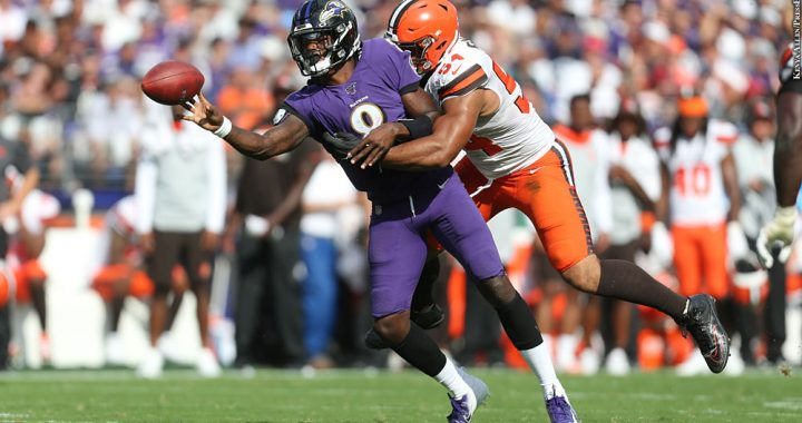 Browns @ Ravens – The Sleeping Giant Finally Awakens