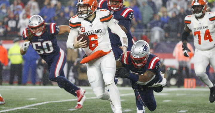 Browns Fall to 2-5 as Patriots Remain Unbeaten