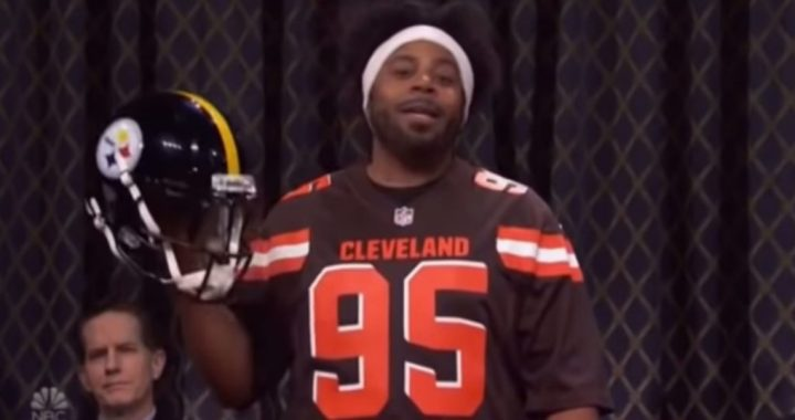 "VIDEO: ""Myles Garrett"" Makes SNL Open"