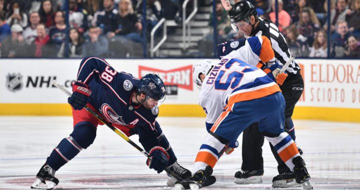 Jackets Hit Wall Against Islanders