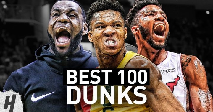 VIDEO: NBA's Top-100 Dunks of the Decade!