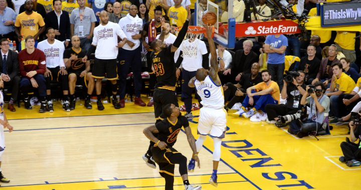 Throwback: What if LeBron's Play Was Called a Goaltend?