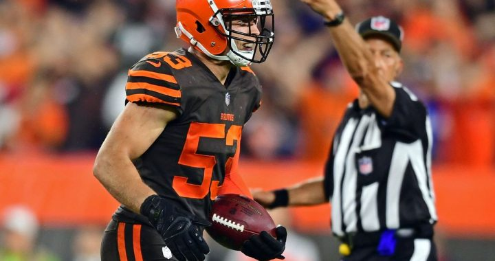 Joe Schobert Will Be a Cap Casualty