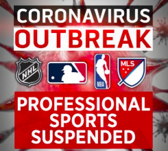A Complete Stoppage of Sports due to COVID 19