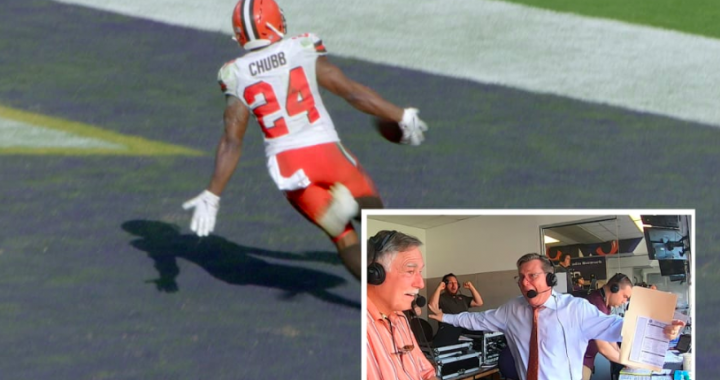 The Best Play-by-Play Calls From Browns Announcer Jim Donovan