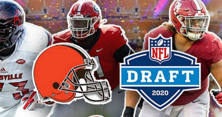 What are the Browns' options at the tenth overall pick?