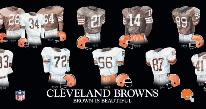 Fashion and Football: The Uniform History of the Cleveland Browns