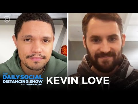 VIDEO: K Love Joined The Daily Show W/ Trevor Noah!