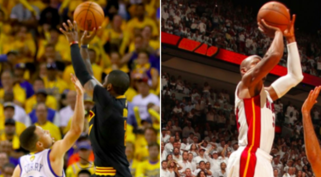 The More Clutch Shot? Ray Allen '13 or Kyrie Irving '16?