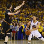 Video: Kevin Love Stops Steph Curry!